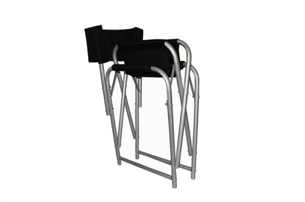 Aluminium Directors Chair Folded