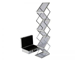 Brochure stand and case