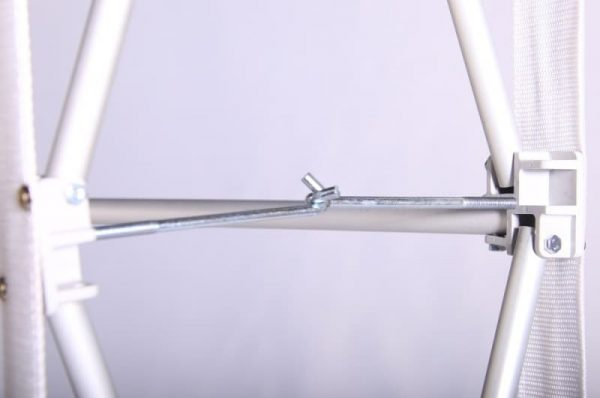 Bannerwall Curved hook bolt system