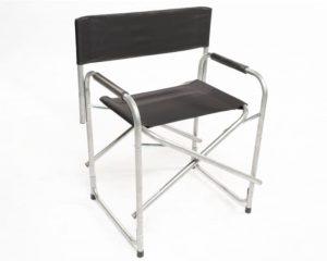 Directors chair aluminium and cloth