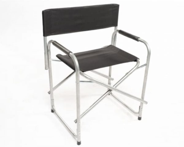 Directors chair aluminium and cloth