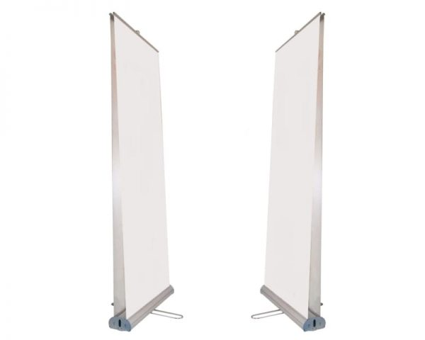 Double sided Type D2 Roll Up banner