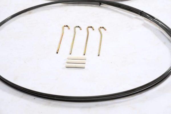 Pop-Up 2m - 4x Peg 3x Connectors & FB Rods
