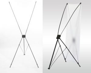 X Frame front and back view