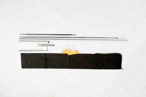 Multi-Functional Aluminium Flags 2m Kit
